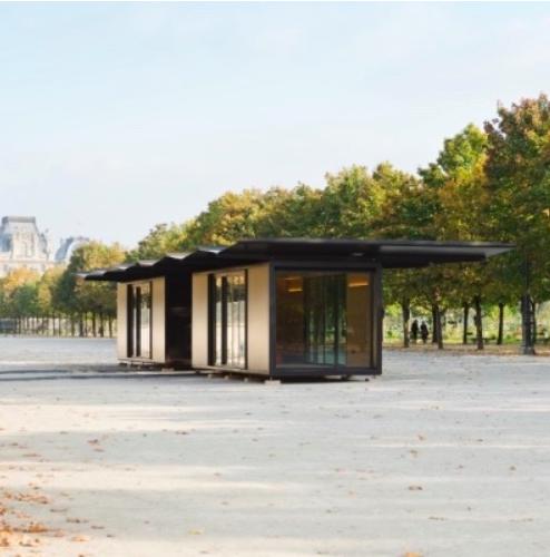 Le kiosque de ronan erwan bouroullec jusqu au 5 novembre for Fiac 2015 jardin des tuileries