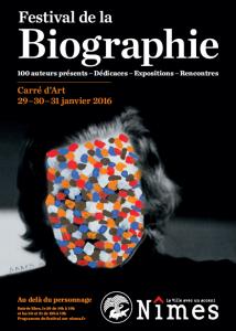 Festival de la biographie AFFICHE