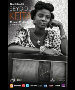 Affiche de l'exposition Seydou Keita