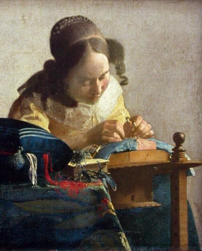 Visite guid e d exposition vermeer et les ma tres de la peinture de genre avec billet coupe file - Musee du louvre billet coupe file ...